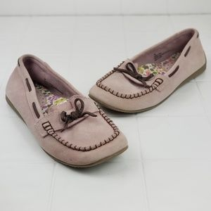 Old college Inn size 8 blush colored moccasins